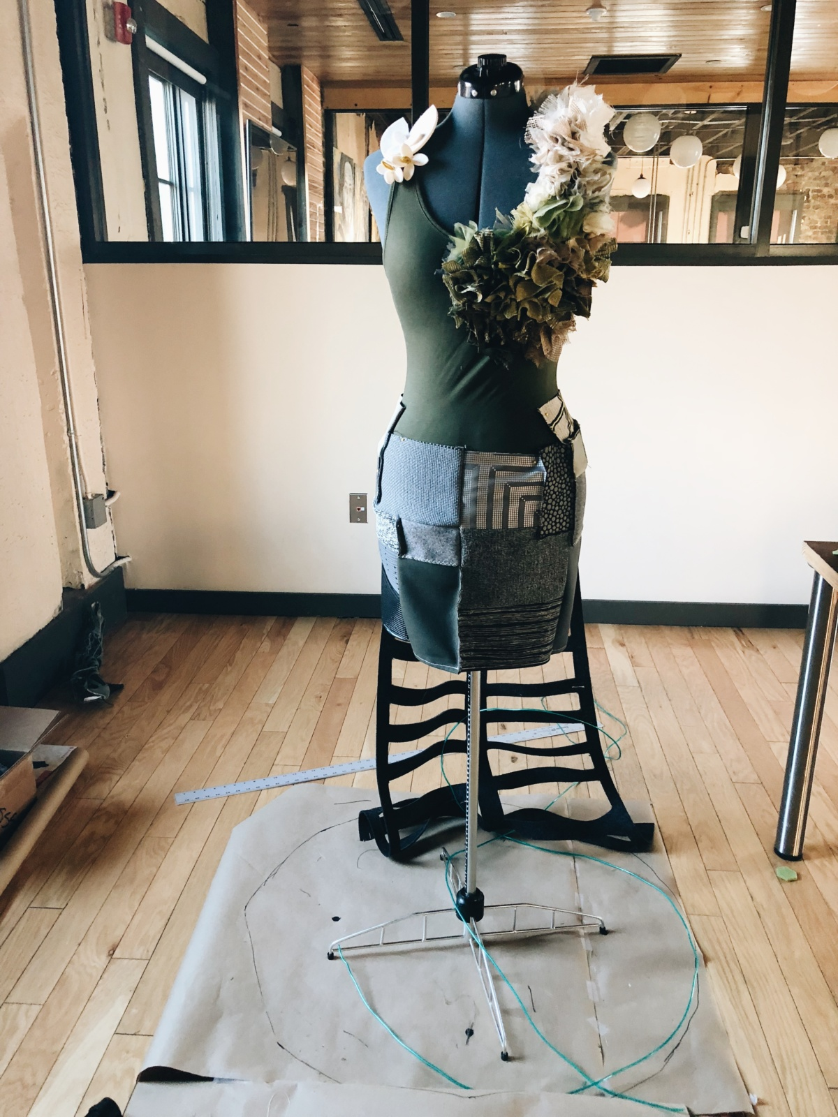 Garment process work