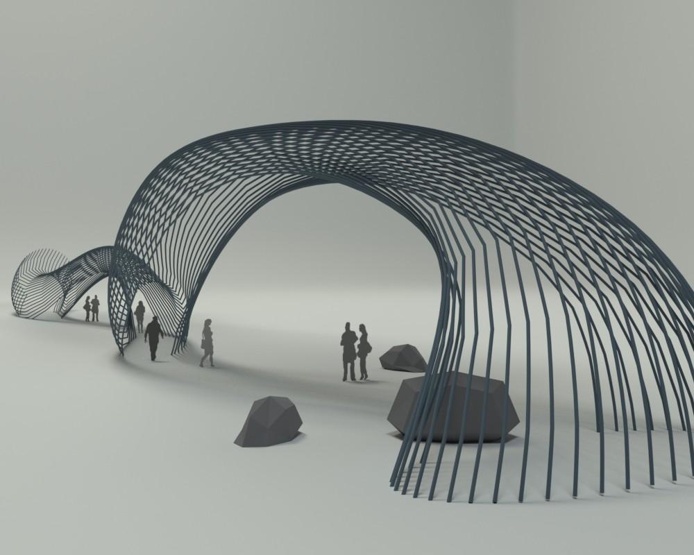 passageway rendering