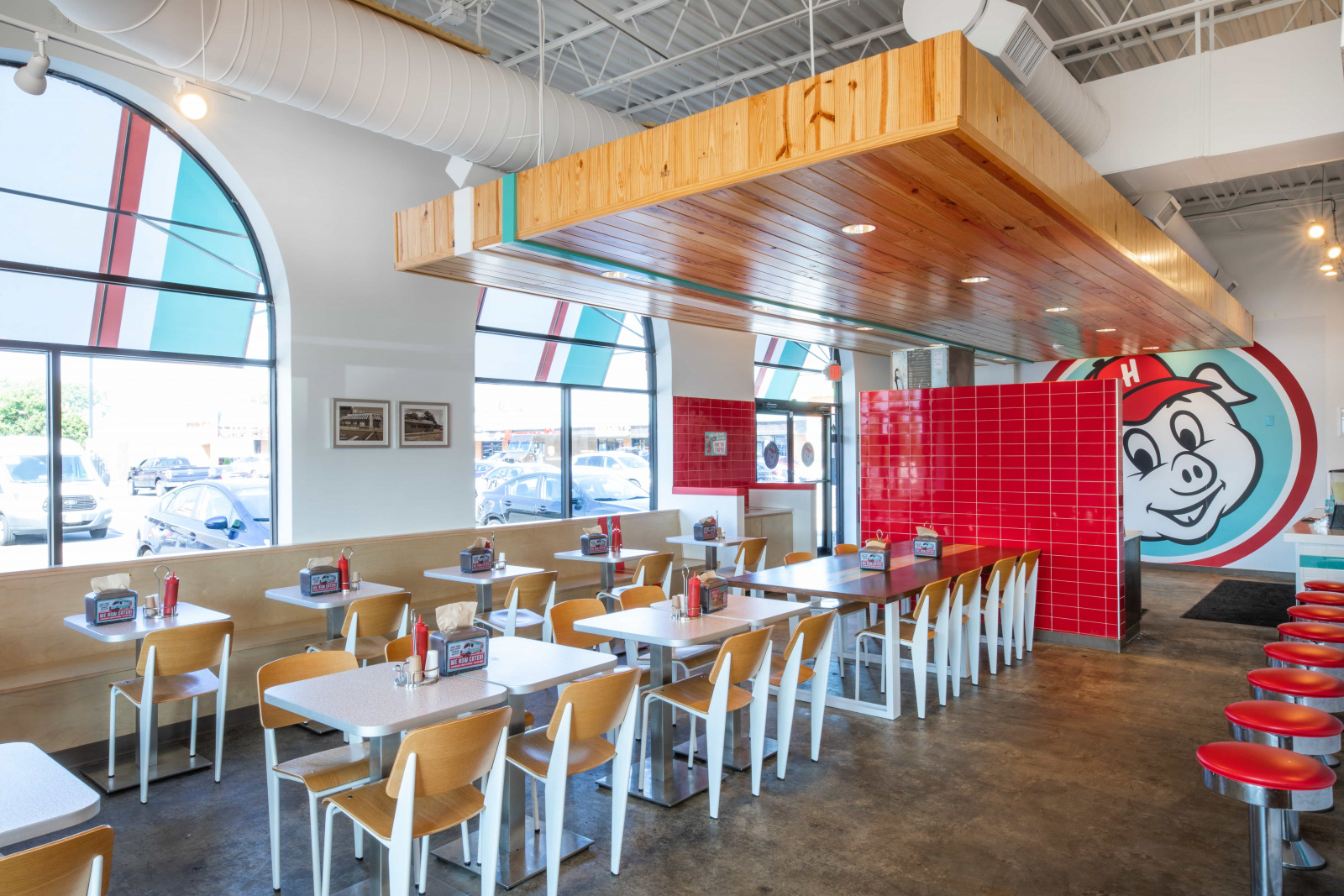 Hugh Baby's - Restaurant Architectural Design by Remick Architecture